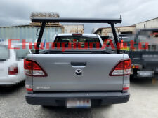 3'' Aluminium Ladder Rack fit Ford Ranger 2012+, Mazda BT50 2012-2018 TUB BLACK