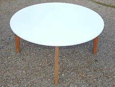 Oak Less than 60cm Round No Assembly Required Coffee Tables