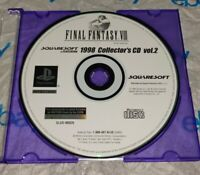1998 Collectors CD Vol.2 Final Fantasy VIII Demo (Sony Playstation 1 PS1) Rare!