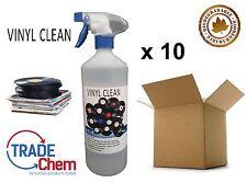 Vinyl Clean - Record Cleaner - Anti Static 10 x 1L (Free microfiber cloth!)