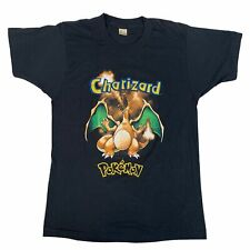 "Vintage Pokemon ""Charizard"" T-Shirt 1999 Original Pikachu 90's Snorlax Japan"