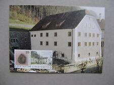 LIECHTENSTEIN, maximumcard maxi card 2003, Nat. museum, fossil