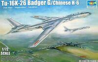 Trumpeter 1:72 Tupolev Tu-16K-26 Badger G Aircraft Model Kit