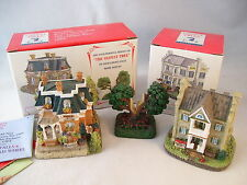 Liberty Falls Americana Collection 3 pc Sinclair Hotel Rosie's Flower Shop Tree