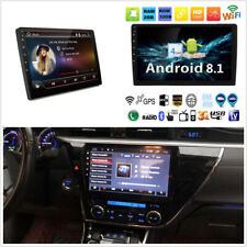 """10.1"""" 1080P HD Ultra-thin Android 8.1 Quad-Core GPS Wifi TV TPMS DAB Mirror Link"""