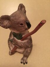 "World Wildlife Fund Porcelain Koala - Hand Painted - ""Don'T Bug Me"" New"