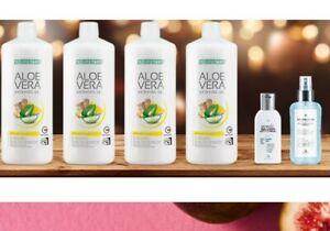 (27.50€/1l)LR Aloe Vera Immune Prevention Pack 4mal 1L+ Protection Hand Spray