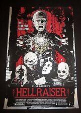 Hellraiser Ltd Ed Print Poster Pinhead James Rheem Davis Mondo artist S/N x/80