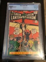 Green Lantern  #89 CBCS Not CGC  8.0   VF  WHITE pages Controversial Jesus Cover