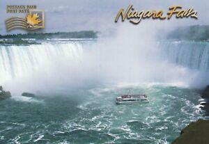 CANADA UX 120 - NF 5098 -PREPAID POSTAGE POSTCARD - NIAGARA FALLS AND HORNBLOWER