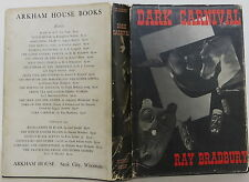 RAY BRADBURY Dark Carnival FIRST EDITION