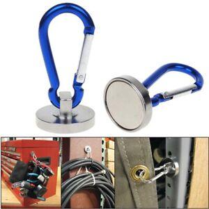 2PCS Supper Magnetic Carabiner Hook Home, Garage Tool, Room, Construction Works