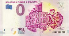 ITALIE Verona, Balcone di Romeo e Giulietta, 2019, Billet 0 € Souvenir
