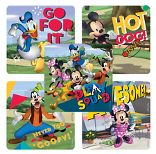 """25 Mickey Mouse and Disney Pals Stickers, 2.5""""x2.5"""" ea., Party Favors"""