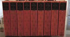 1904-37 THE WORKS OF POE, HUGO, IBSEN.. BLACK'S READERS SERVICE 14v Decor Set HC
