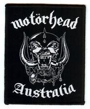 Motorhead Australia Snaggletooth Warpig Lemmy Kilmister Girlschool Saxon Raven