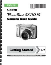 Canon Powershot SX110 IS Camera User Guide Owner's Manual