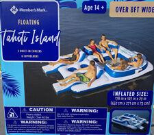 Member's Mark 6-Person Tropical Tahiti Inflatable Floating Island