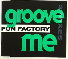 Maxi CD - Fun Factory - Groove Me - A4264