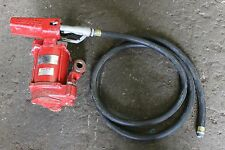 Tank mounted fuel pump