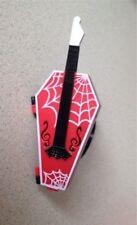 NEW Monster High Doll Operetta Original Coffin Guitar Purse Opens Up Accessories