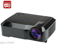 3500 Lumens LED Projector: 1280x768: Image upto 120 Inches: HDMI, USB, AV, VGA