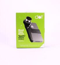Kogeto Dot 360 Degree Panoramic Camera Video Lens for iPhone 4/4S Black NEW