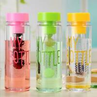 Creative large-capacity water bottle leak-proof  Plastic portable sports cup