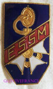 IN18500 - Ecole Del Service Da Salute Militaire,Lione,Smalto,Spalla Liscia Con
