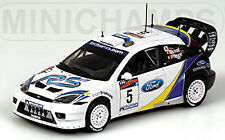 FORD FOCUS RS WRC RALLY ARGENTINA 2003 DUVAL Prevot #5 1:43 MINICHAMPS