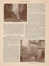 Das Erdbeben in Laibach Ljubljanica Slowenien Original Zeitungsartikel von 1895