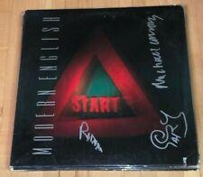 Modern English signed LP Stop Start autographed vinyl record JSA