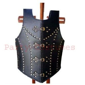 Medieval Roman Greek Leather Armor Jacket Vest Knight Crusader Armour Costume