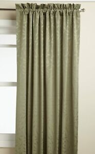 """Whitfield Tailored Curtain Panel, Sage, 84"""", by Lorraine Home Fashions"""