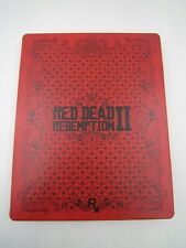 PS4 Xbox One Red Dead Redemption 2 II LTD Edition G2 Game Case Steelbook NO GAME