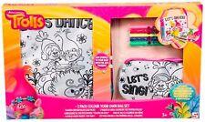 Dreamworks TROLLS - Colour your own BAG SET (6600) 2-pack