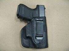 S&W M&P Compact 9mm/.40 Iwb Leather In The Waistband Concealed Carry Holster Blk