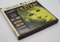 Reel to Reel Lionel Bart's Oliver Broadway Original Cast 7 1/2 IPS 4 *VG