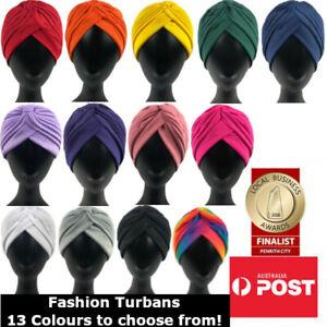 Women's Fashion Turbans Head Scarf Stretch Chemo Bandana Head Wrap