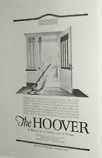 1920 HOOVER advertisement, vacuum cleaner, suction sweeper