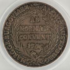 Austrian States 1766 Burgau Maria Theresa Silver Thaler Coin ANACS VF35