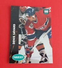 1991/92 Parkhurst Hockey Denis Savard Card #211***Montreal Canadiens***
