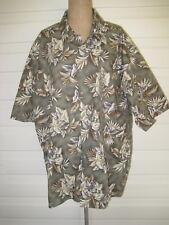 Pierre Cardin S/SL Hawaiian Shirt. 100% Cotton. XXL