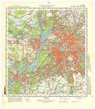 Russian Soviet Military Topographic Maps - BERLIN, 1:100 000, ed. 1987 (set)