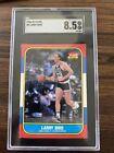 1986-87 Fleer Larry Bird #9 Celtics SGC 8.5