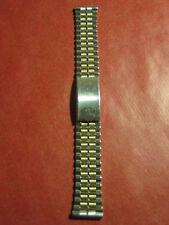 NOVAVIT NSA, Swiss Made, Uhrarmband 70er Jahre, seltene bicolor Variante