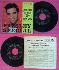 "LP 45 7 "" Elvis Presley I Got Stung One Night Don'T Blue Moon Special No CD Mc.."
