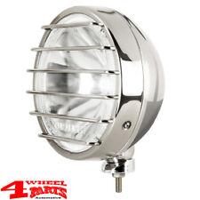 Fernscheinwerfer Zusatzscheinwerfer Edelstahl Ø 211mm 55W mit LED Positionslicht