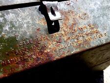 US Armee / GB Großbritanien - Werkzeugkiste_Weltkrieg 2 od.1_Scheunenfund
