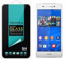 TechFilm® Tempered Glass Screen Protector Saver Shield For Sony Xperia Z3v